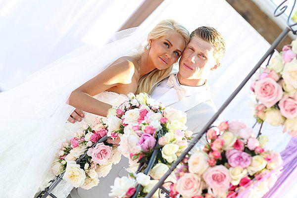 Оформление свадьбы Павла Погребняка