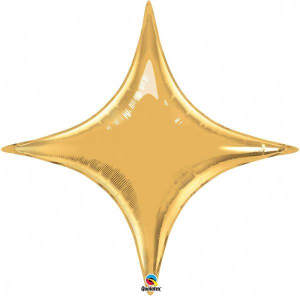 Звезда 4-х конечная золото