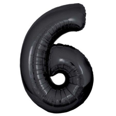 Шарик цифра 6