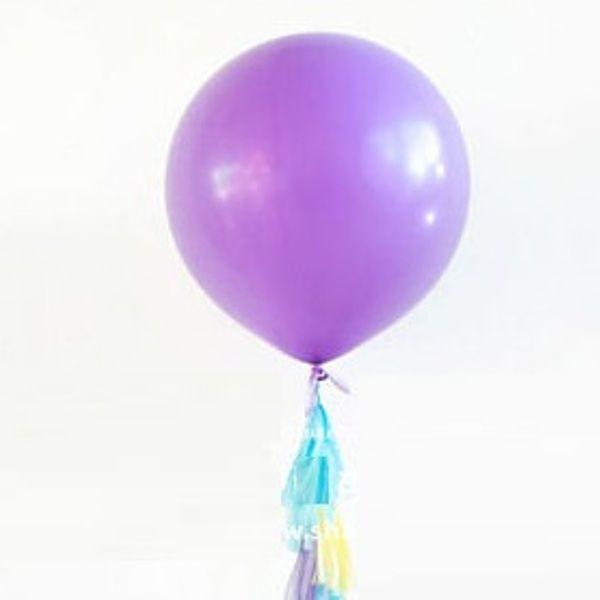 Большой сиреневый воздушный шар. Компания onballoon.ru