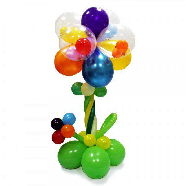 Цветок из шаров «Калейдоскоп»