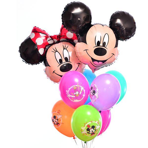 Букет из шаров «Микки и Минни»