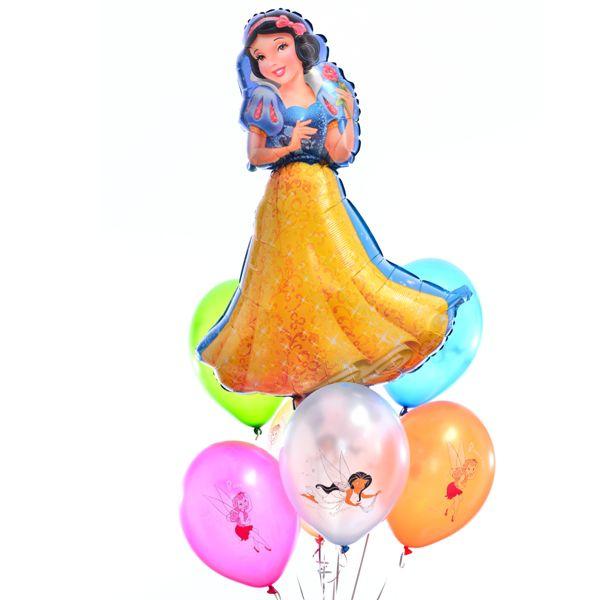 Букет из шаров «Белоснежка»