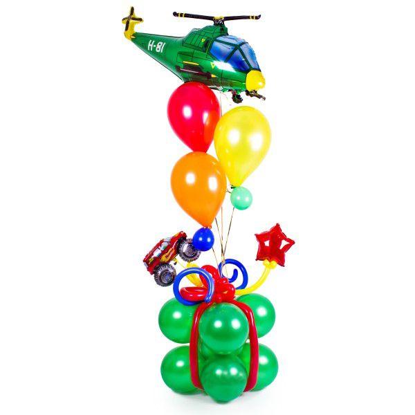 Букет из шаров «Вертолеты»