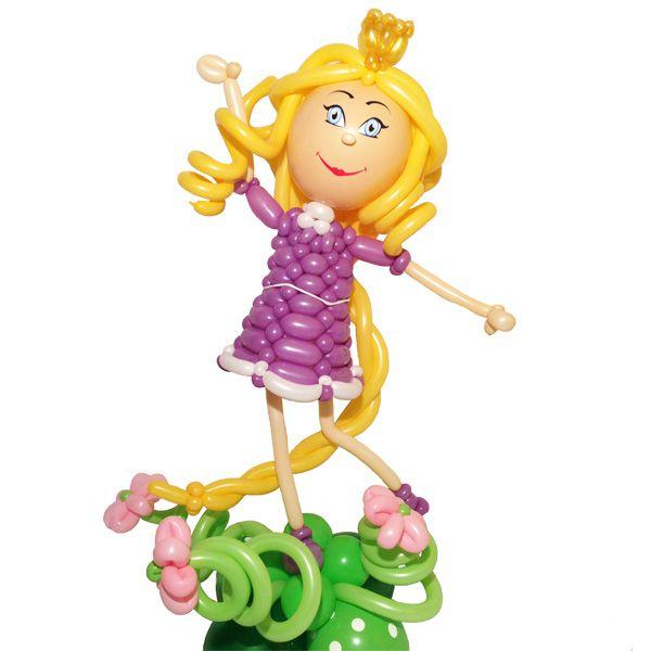 Фигур из шаров «Принцесса»