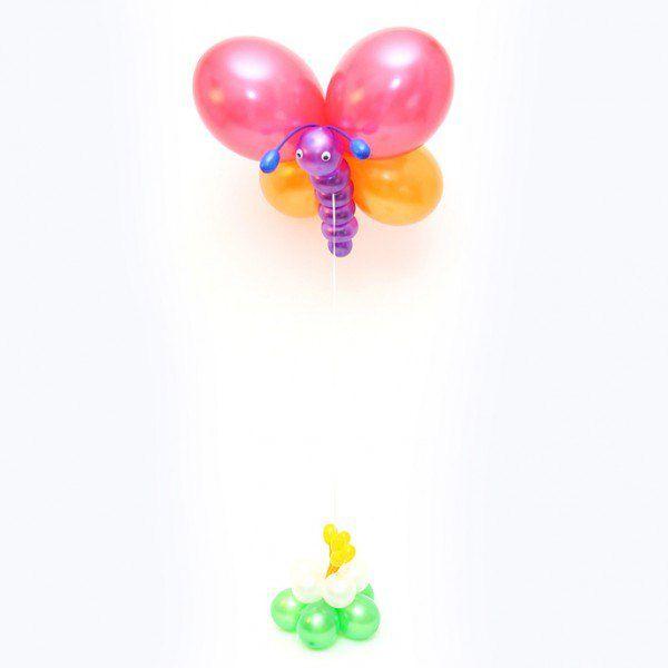 Фигура из шаров «Бабочка»
