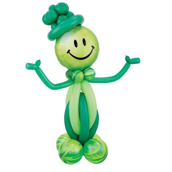 Фигура из шаров «Зеленый человечек»