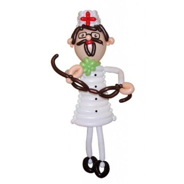 Фигура из шаров «Доктор Айболит»