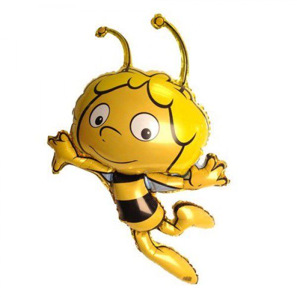 Шар (122 см) Фигура, Пчела Майя, Желтый.