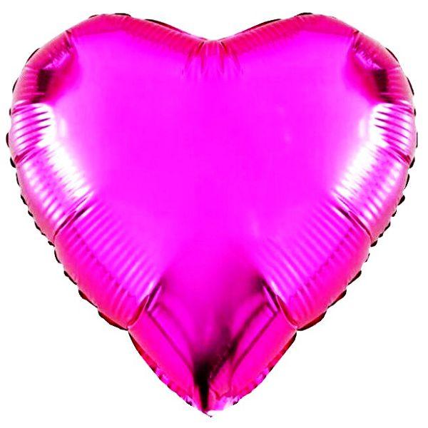 Шар (46 см) Сердце, Фуше