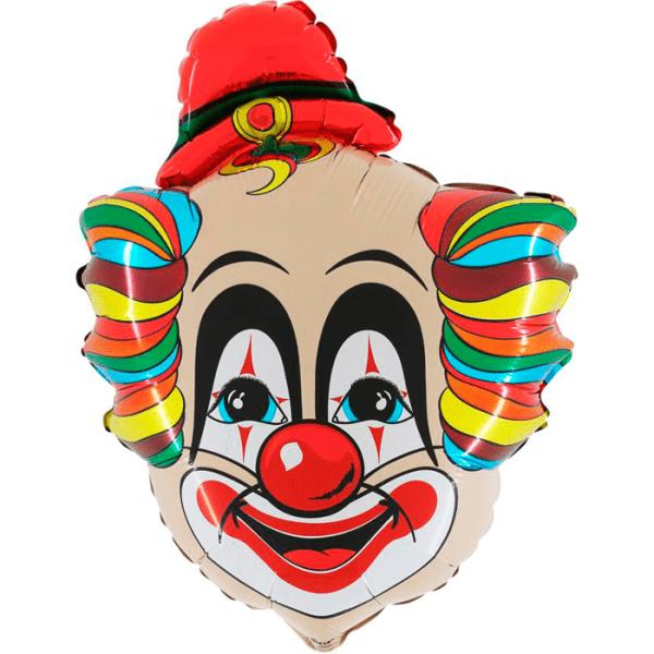 Шар (76 см) Фигура, Голова клоуна В.