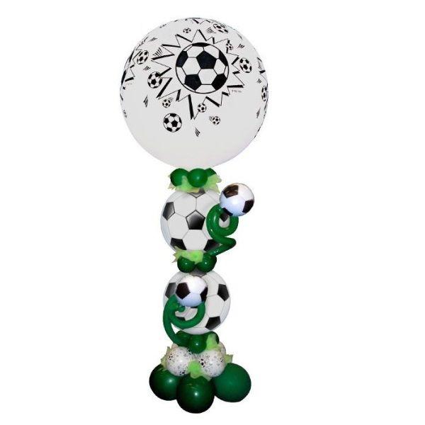 Столбик из шаров «Футбольный мяч»