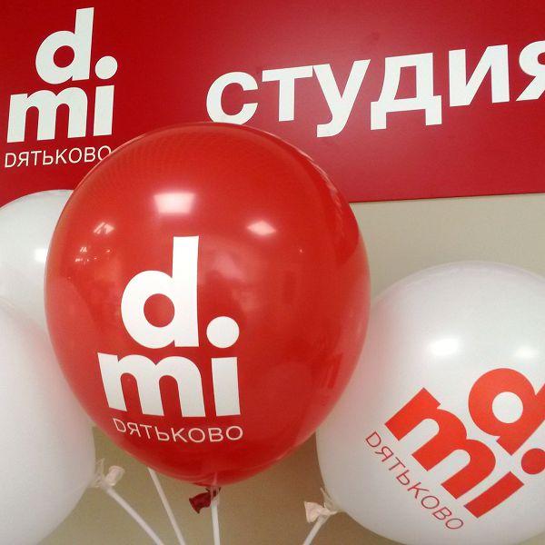 Оформление шарами открытия магазина