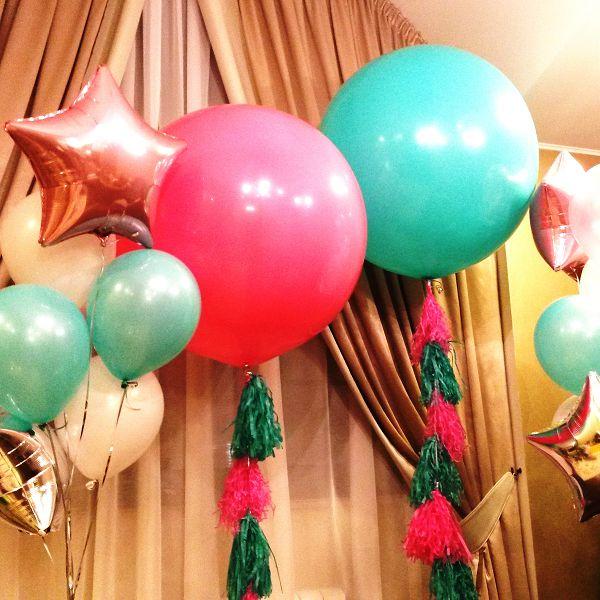 Большие воздушные шары на день рождения http://onballoon.ru/