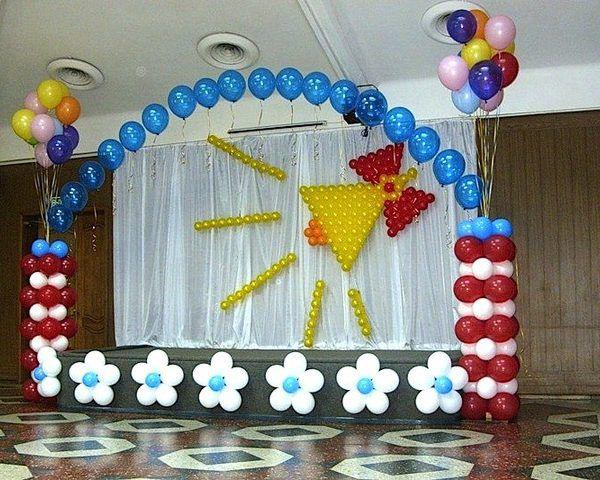 Воздушные шары на последний звонок. Компания onballoon.ru