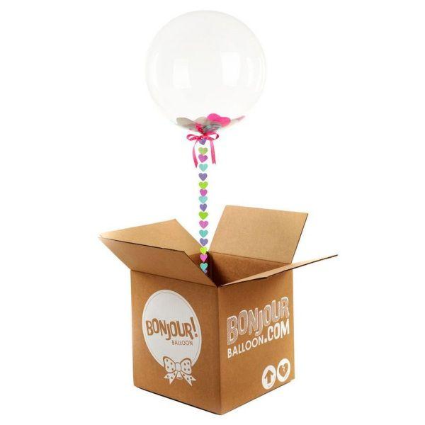 коробка сюрприз с шарами. шары в коробке сюрприз. Компания onballoon.ru