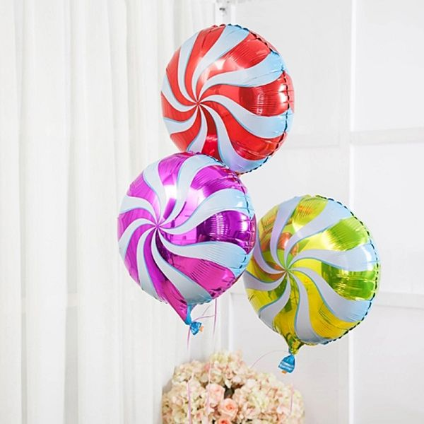 воздушные шары карамелька, воздушные шары конфетка, воздушные шары леденец http://onballoon.ru