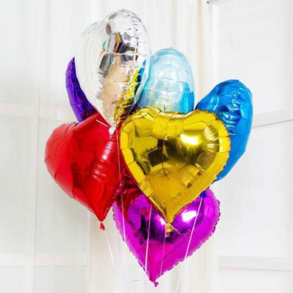 Фольгированное сердце шар