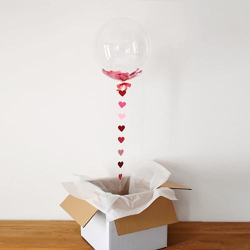 коробок сюрприз, коробка с сюрпризом, коробка с шарами, http://onballoon.ru