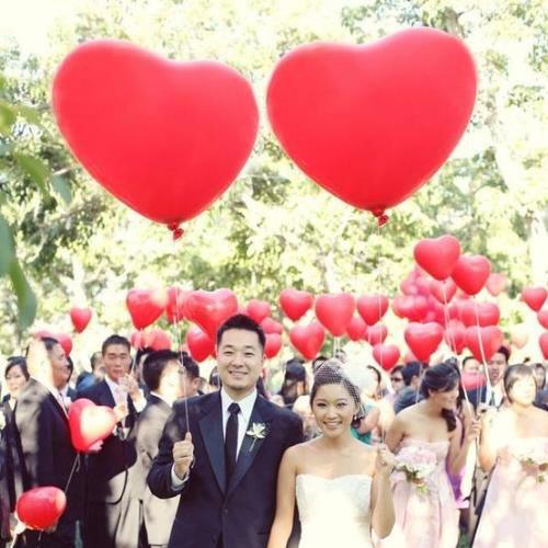 свадебная фотосессия с шарами http://onballoon.ru