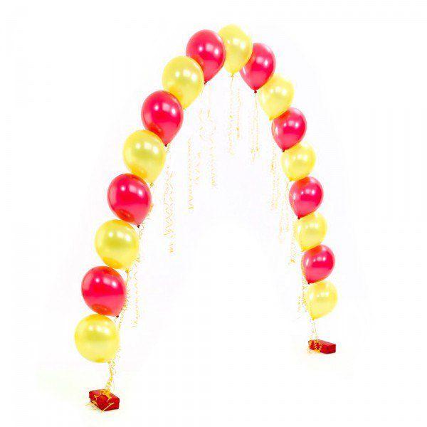 Арка из шаров с гелием «Гелиевая цепочка»