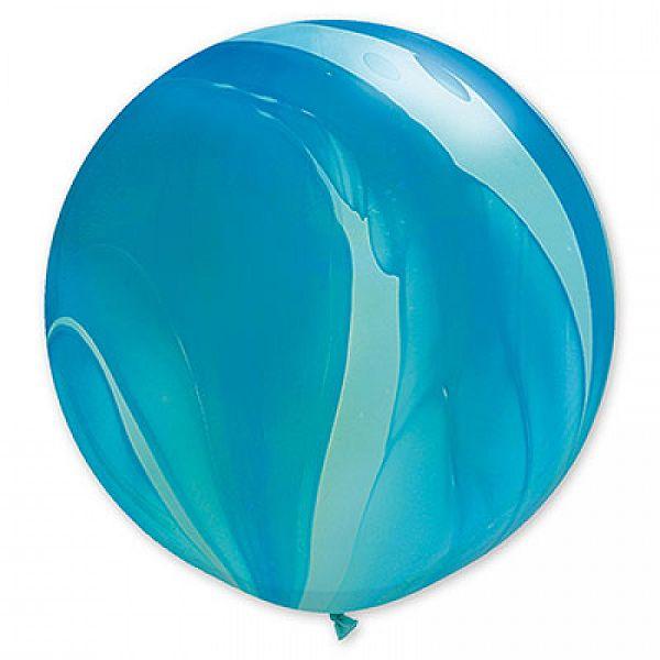Шар (36''/91 см) Супер Агат Blue