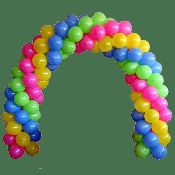 Арка плетеная из шаров «Простая»