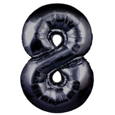 Шарик цифра 8
