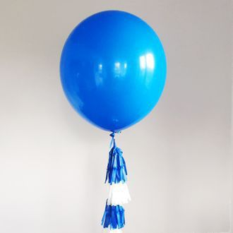 Большой синий воздушный шар. Компания onballoon.ru