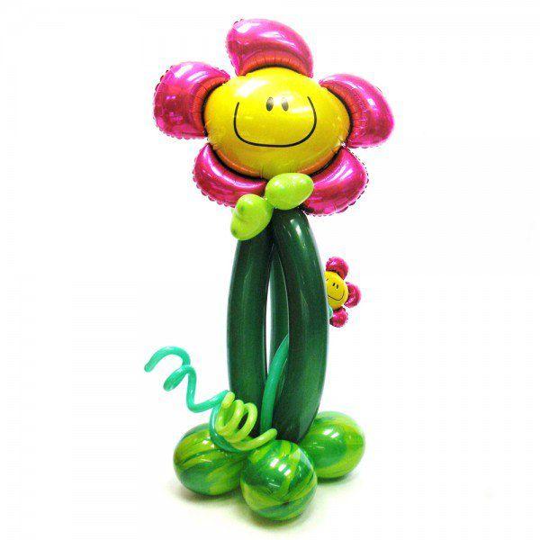 Цветок из шаров «Смайл»