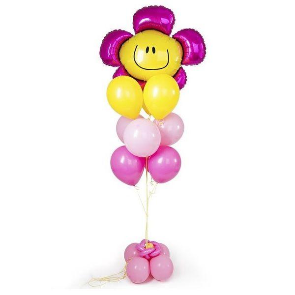 Букет из шаров «Цветок веселый смйл»