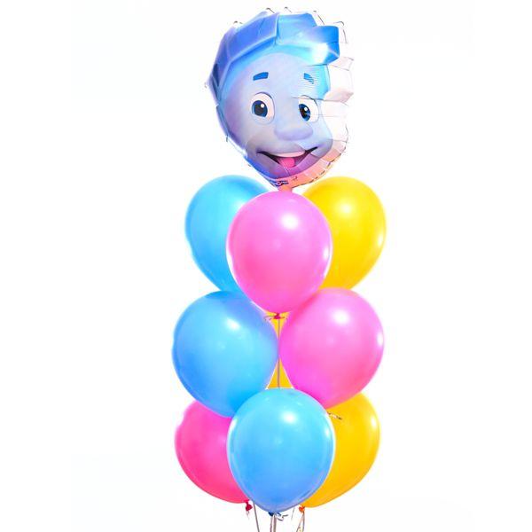 Букет из шаров «Нолик»
