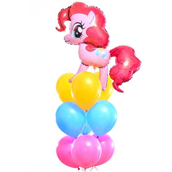 Букет из шаров «Пинки Пай»