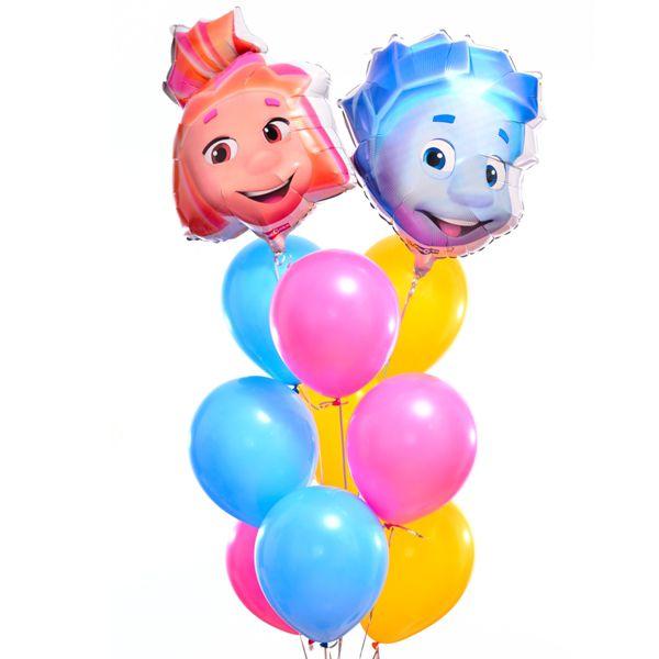 Букет из шаров «Симка и Нолик»