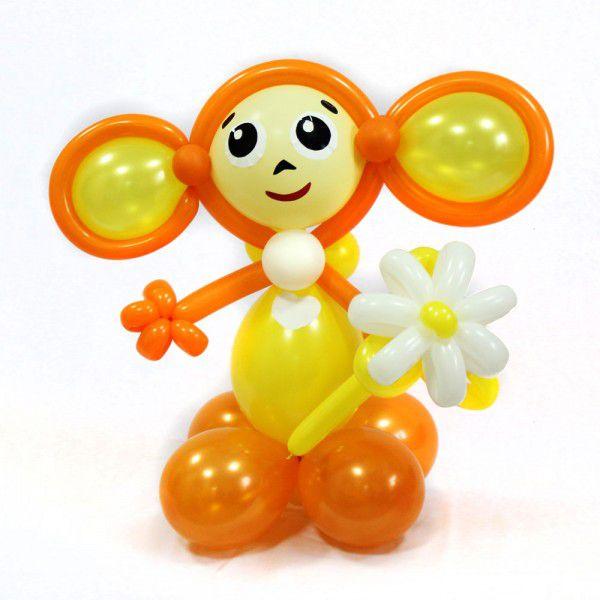Фигура из шаров «Черепашка»