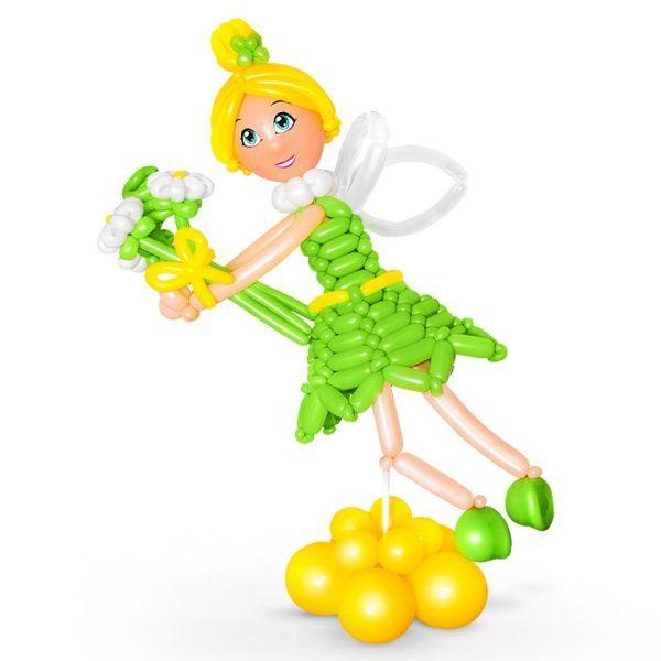 Фигура из шаров «Фея Динь Динь»