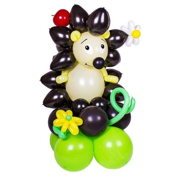 Фигура из шаров «Ёжик»