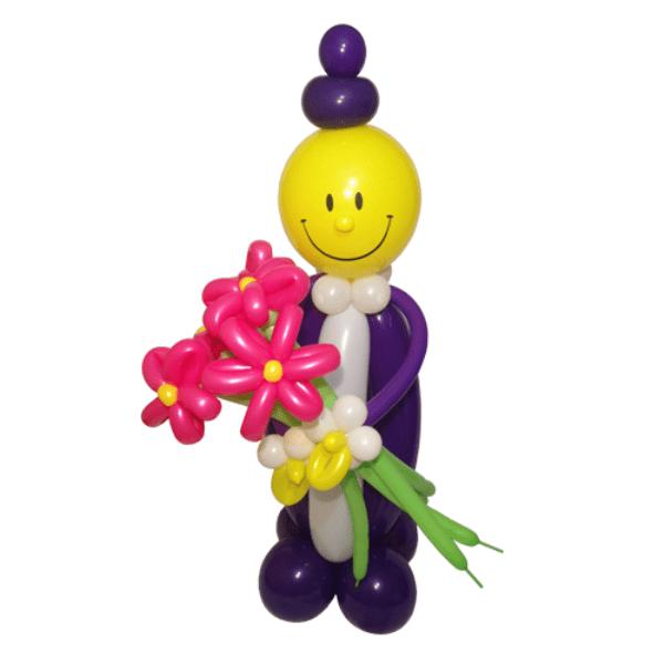 Фигура из шаров «Смайл-школьник»