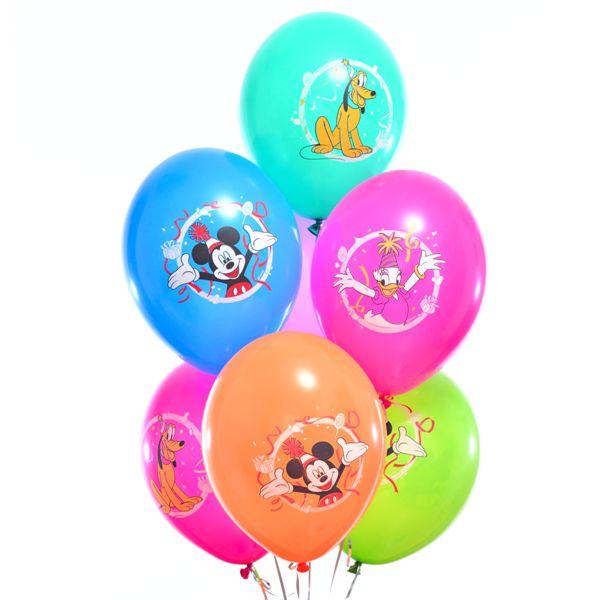 Облако из шаров «Микки и его друзья»