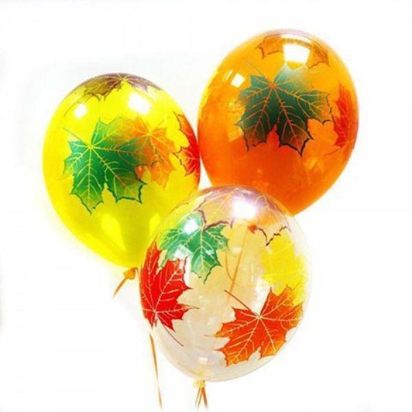 Облако из шаров «Осенние листочки»