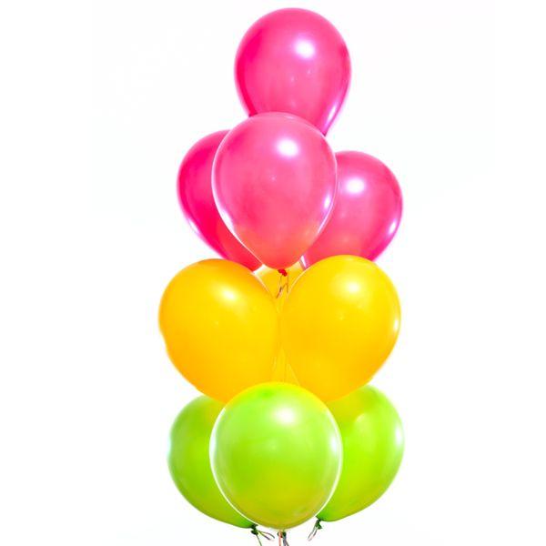 Облако из шаров «Разноцветные»