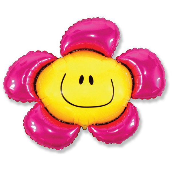 Шар (104 см) Фигура, Солнечная улыбка, Фуше.