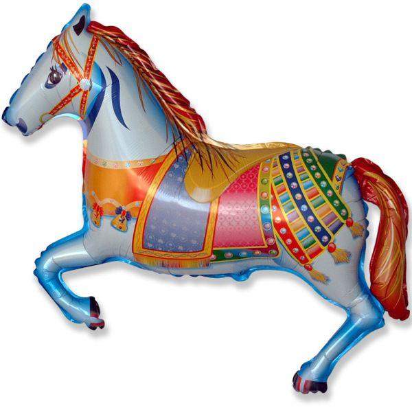Шар (107 см) Фигура, Лошадь цирковая.
