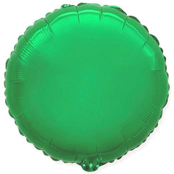 Шар (46 см) Круг, Зеленый