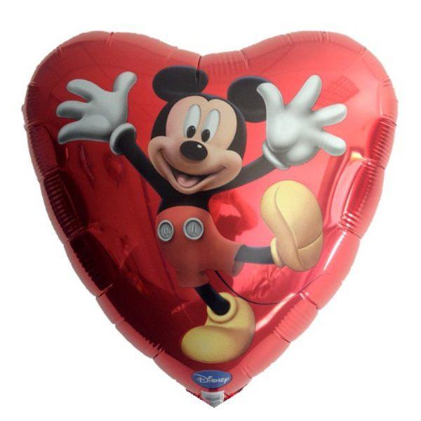 Шар (46 см) Сердце, STREET Микки.