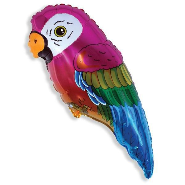 Шар (89 см) Фигура, Супер попугай.