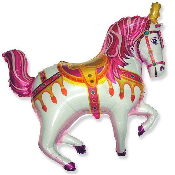 Шар (99 см) Фигура, Лошадь ярмарочная, Фуше.