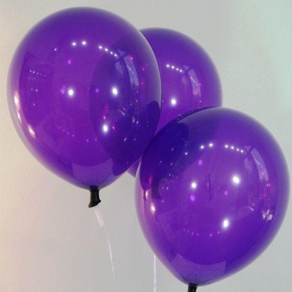 Шары под потолок Фиолетовый пастель