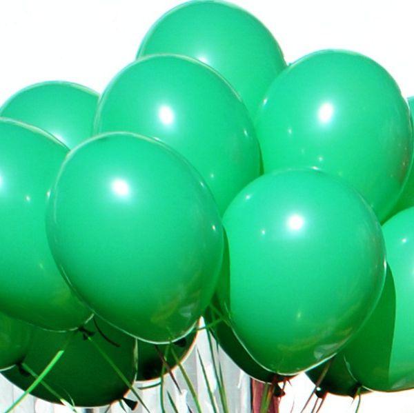 Шары под потолок Зеленый пастель