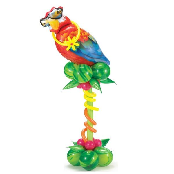 Столбик из шаров «Попугай-Гаваи»